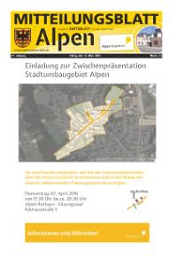 Gemeinde Alpen: Amtliches Mitteilungsblatt
